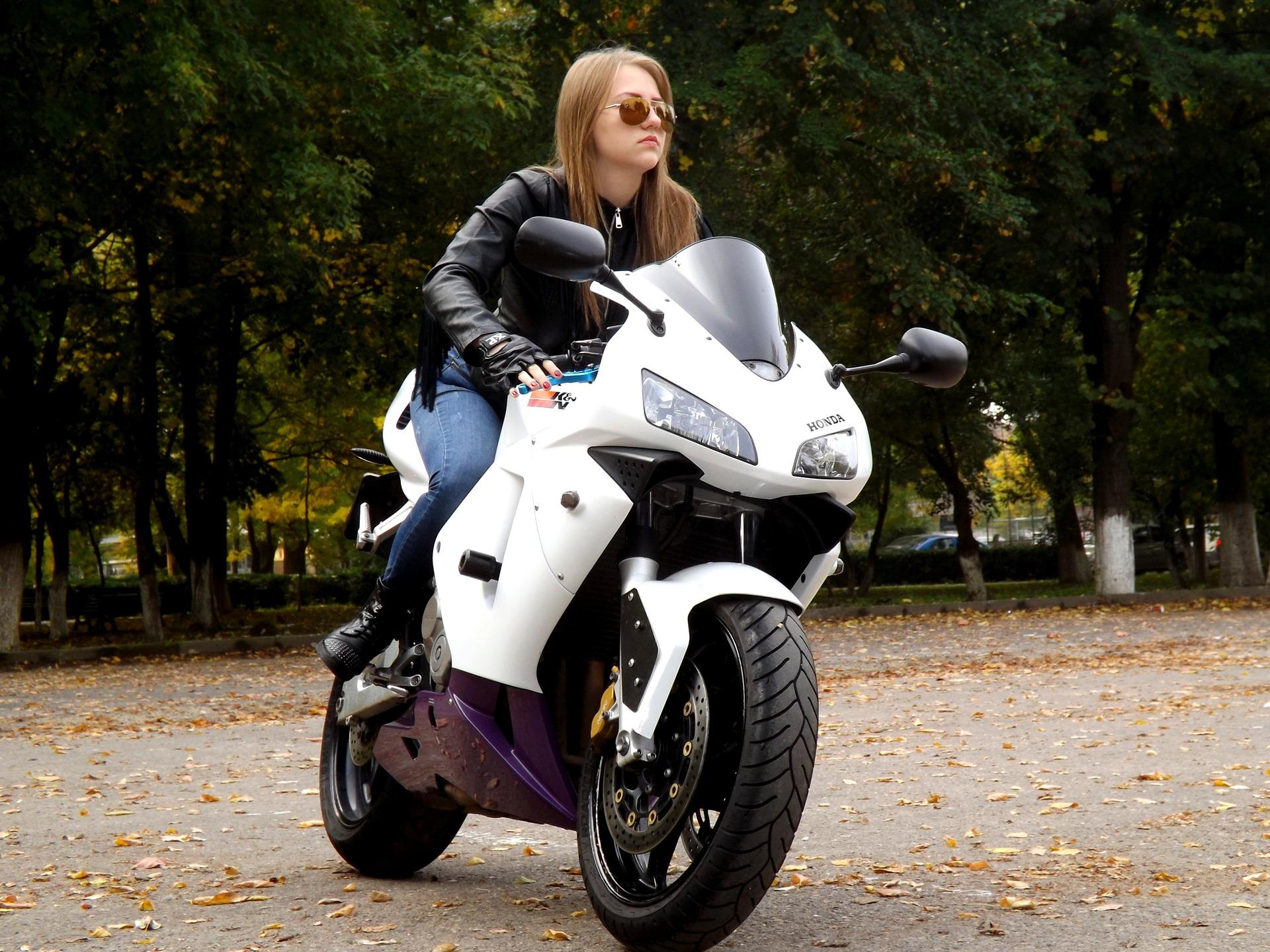 Ich und mein Motorrad